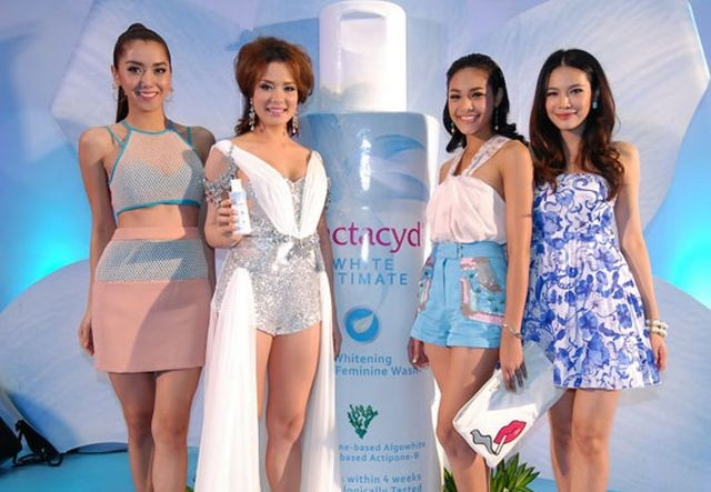 Whitening cream for private parts!