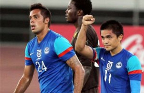 India beat Cameroon to win third successive Nehru Cup title