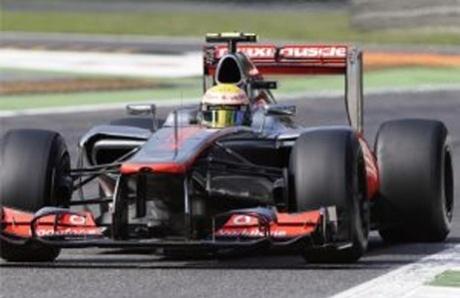 Lewis Hamilton on pole for Italian Grand Prix