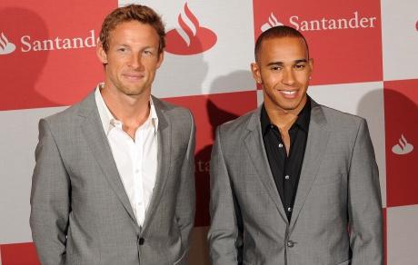 Button, not Hamilton McLaren's star for future success