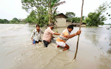 Close to 10 lakh marooned in Assam