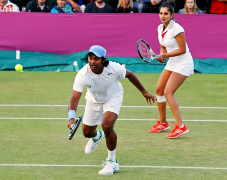 Leander Paes and Sania Mirza