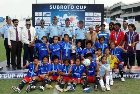 Manipur win U-17 girls Subroto Cup