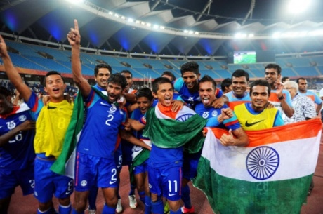 India's Nehru Cup victory