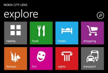 Nokia City Lens Point