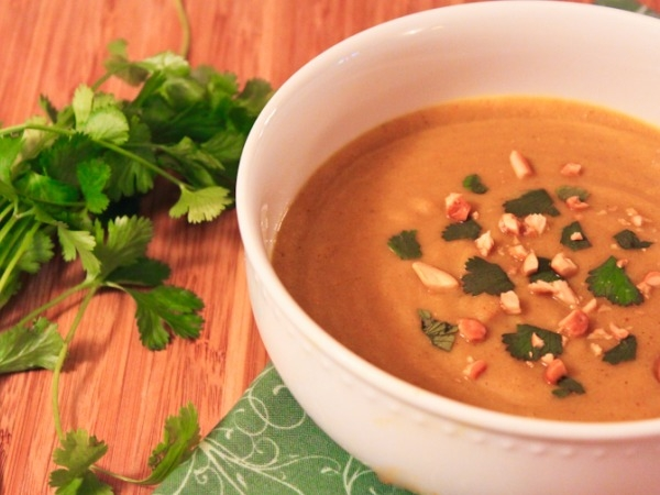 Healthy Snack: Curried Cauliflower Soup