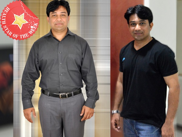 Health Star Of The Week: Ankur Jariwala's Journey From Flab To Fit