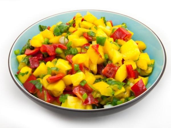 Healthy Snack : Spicy Oriental Mango Salad