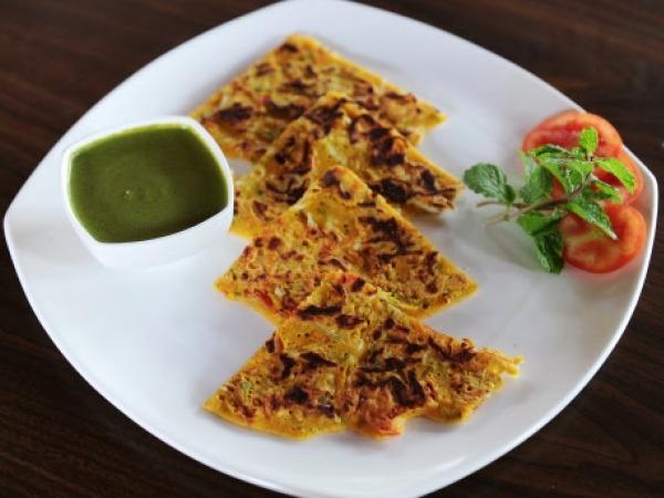 Healthy Indian Recipe: Garlic And Coriander Parantha