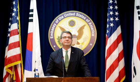U.S. Deputy Secretary of Defense Ashton Carter