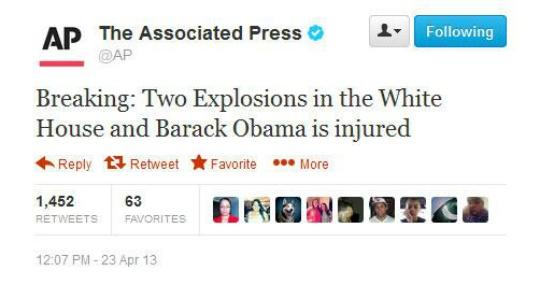 AP tweet