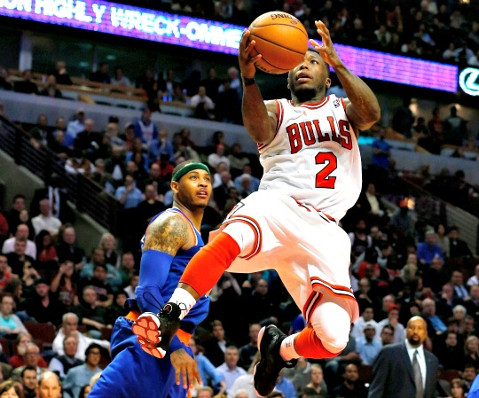 High-Flying Bulls Snap Knicks Win Streak