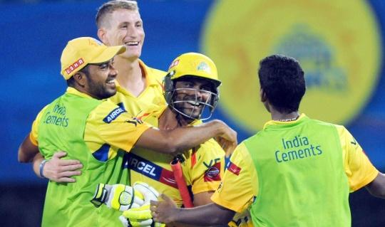 Chennai Super Kings Take On Pune Warriors