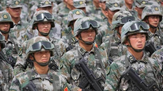 Chinese Troops