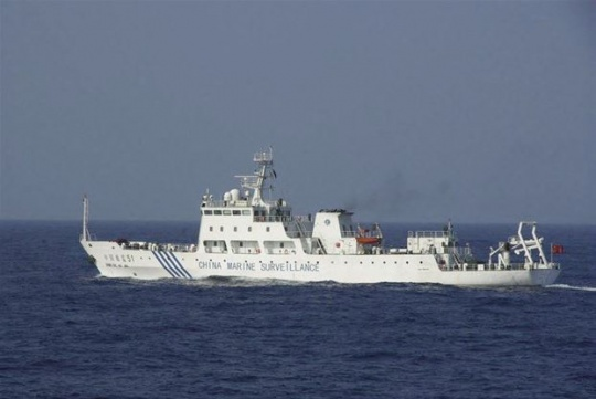 Chinese Ships in Disputed Waters: Japan