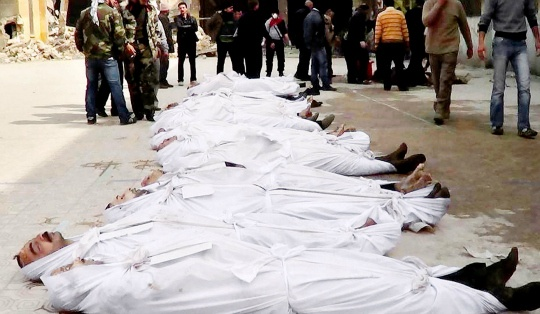 6000 Syrians Killed in March 2013