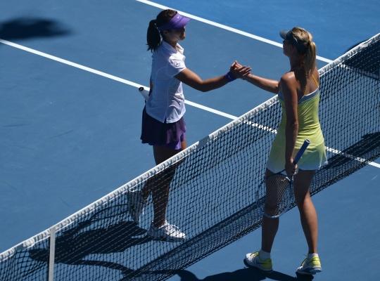 Li Relishing Final Against Sharapova