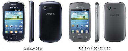 Galaxy Star, Pocket Neo