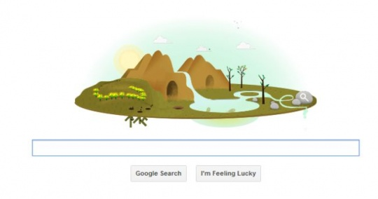 Google Doodle Earth Day 2013
