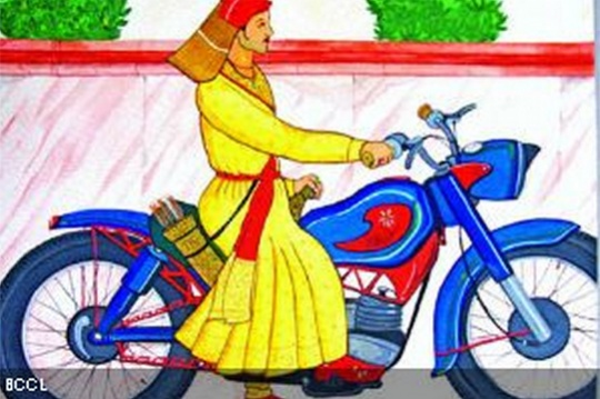The Spirit of Hyderabad Captured on Canvas