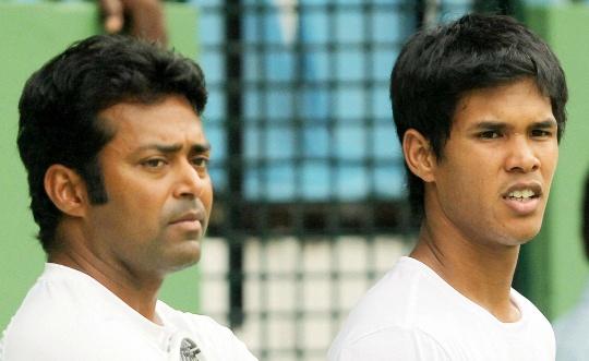 Leander Paes and Somdev Devvarman