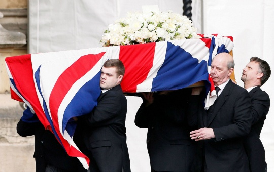 Grand Funeral for Margaret Thatcher