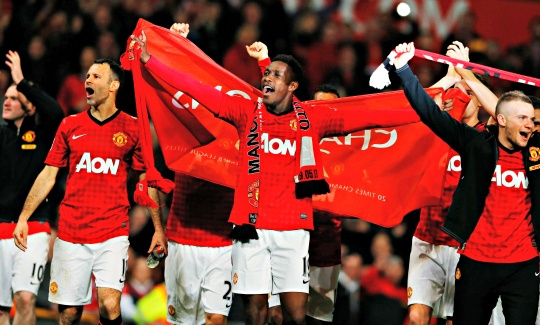 United Win English Premier League Title