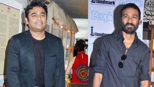 Rahman and Dhanush