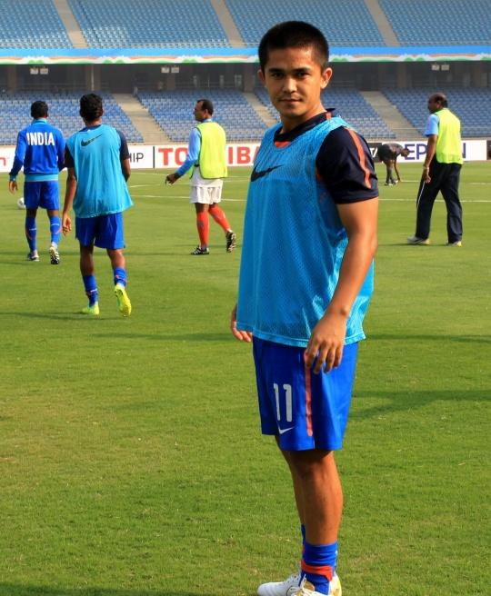 Sunil Chettri