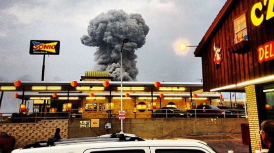 Texas Plant Explosion