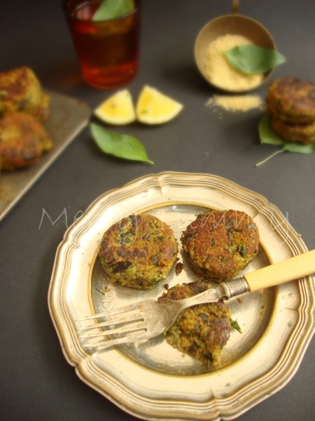 Healthy Snack: Couscous Chickpea Patties