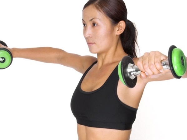 Leg Workouts: Squat With Lateral Raises