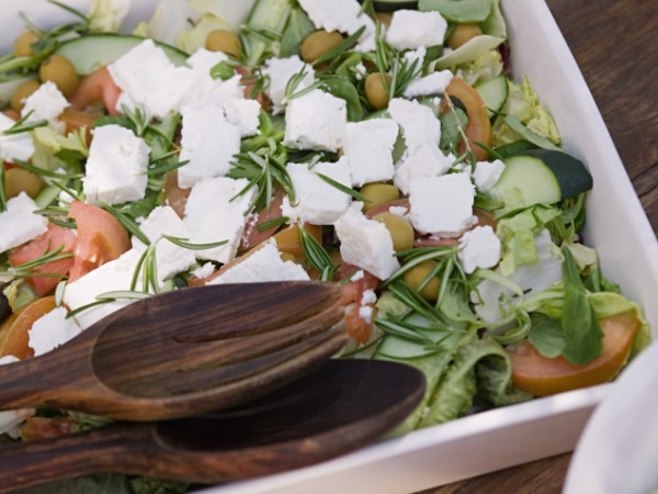 Healthy Greek Salad: Recipe with Reduced Fat Content