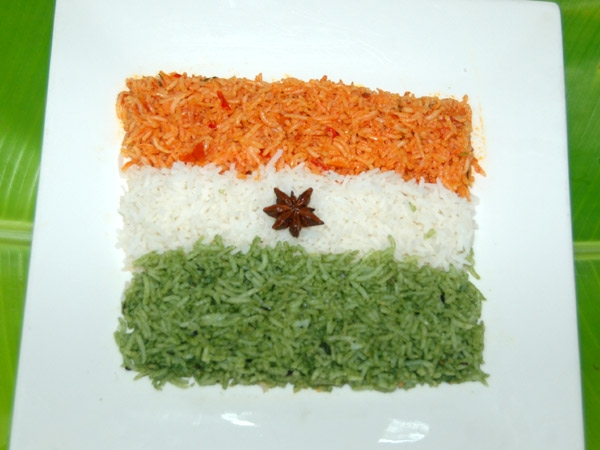 Independence Day Special: Independence Tri Colour Menu