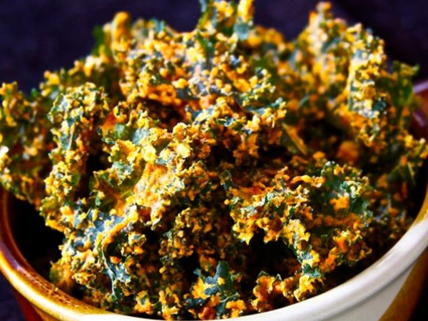 Healthy Chips: Healthy Kale Chips