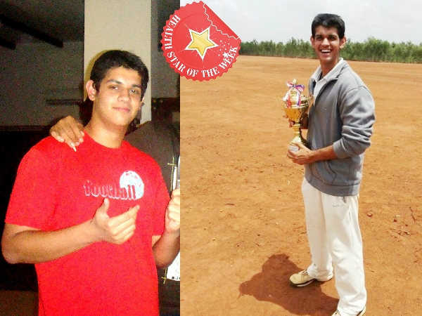 Health Star Of The Week: Aseem Loses Weight To Play Cricket