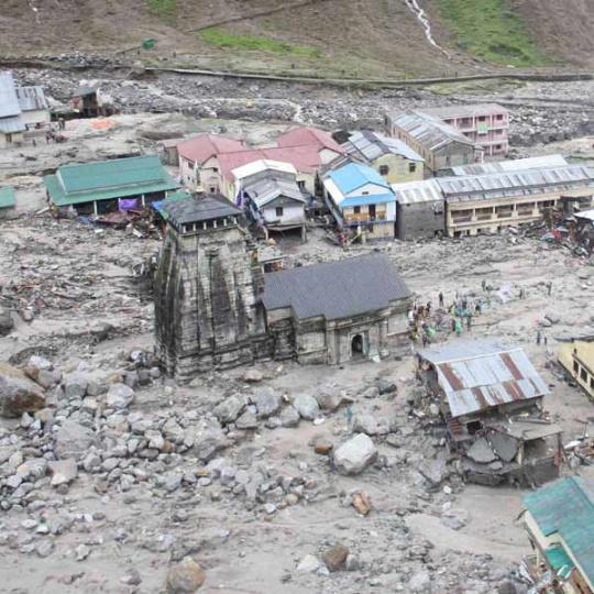 Calamities in Kedarnath