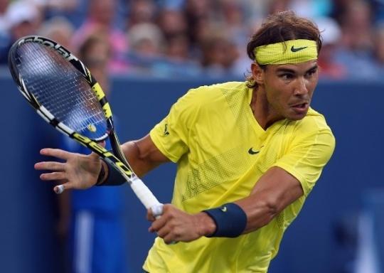 Nadal Shoots Down Federer