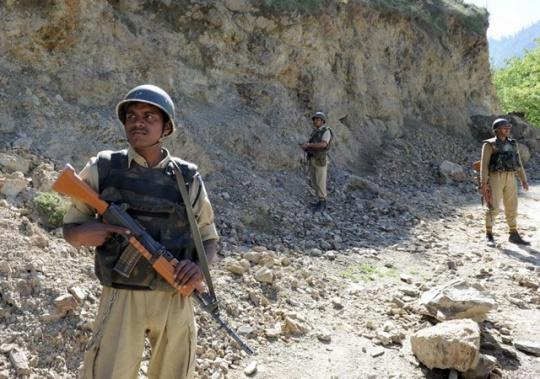 LOC India Pakistan