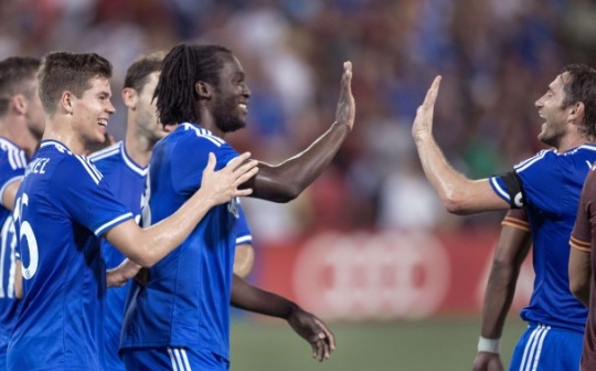 Chelsea Rally For Friendly Win Over Roma