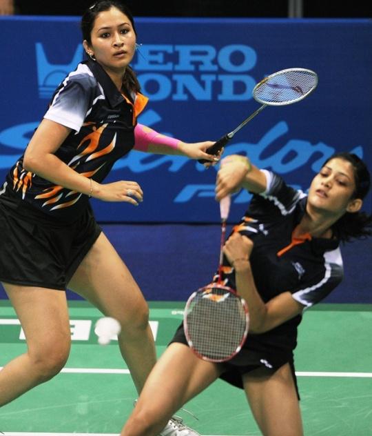 Ashwini Ponnappa and Jwala Gutta