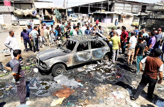 Toll Rises to 86 in Baghdad Bombings