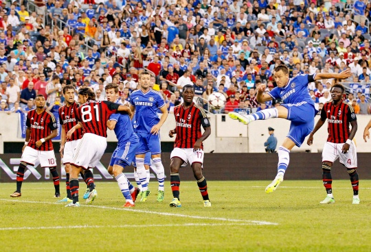 Chelsea Down Milan in Champions Cup