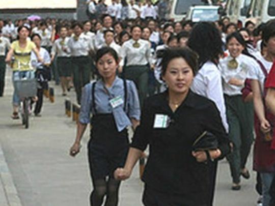 Moderate Earthquake Shakes China