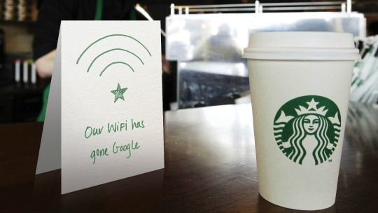 Google to Offer Free Wi-Fi at Starbucks in US