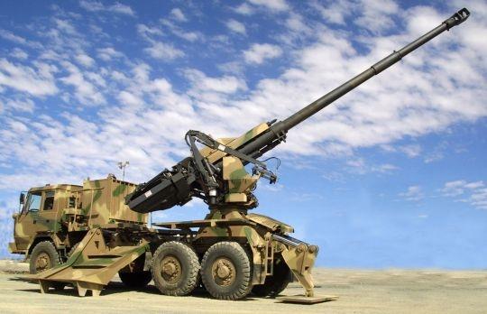 Light-Weight Towed Howitzer field guns