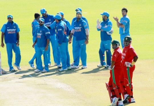 India Bundle Out Zimbabwe For 144