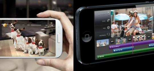 iPhone Home Button Vs Samsung Home Button