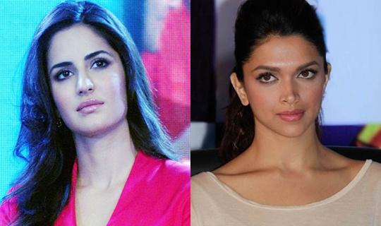 Katrina Kaif, Deepika Padukone