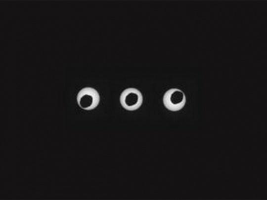 Mars Rover Spies Solar Eclipse